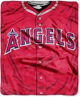 Northwest Company Los Angeles Angels of Anaheim Raschel Strike Blanket
