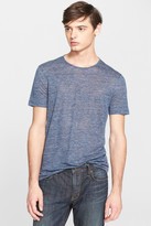John Varvatos Collection Slub Linen Tee