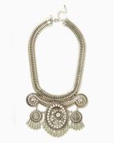 Charming charlie Pere Fringe Bib Necklace