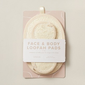Indigo Face And Body Loofah Pads