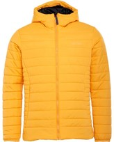 Gotcha Mens Insulator Hooded Puffer Jacket Yellow