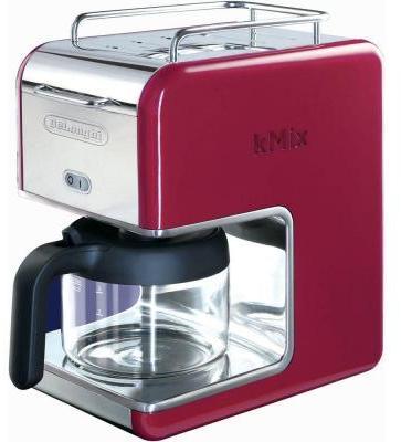 De'Longhi DeLonghi kMix 5-Cup Coffee Maker in Red