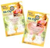 Baby Buddy Bib Clip 2ct for 0-36 Months (Pink /White)