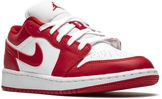 Nike Kids TEEN Air Jordan 1 Low (GS) gym red/white