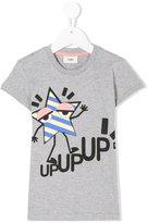 Fendi star motif t-shirt - kids - Cotton - 4 yrs