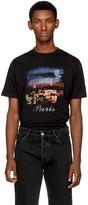 Balenciaga Black Vintage Paris T-shirt