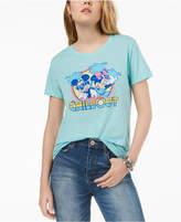 Hybrid Juniors' Disney Mickey & Minnie Mouse Graphic T-Shirt