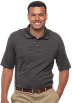 Haggar Big & Tall Classic-Fit Space-Dyed Performance Polo