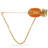 Dolce & Gabbana Pineapple crystal-embellished brooch