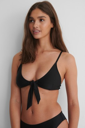 NA-KD Recycled Reborn Tied Front Bikini Top