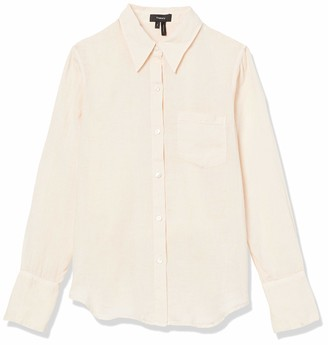 Theory Women's Slim Collar Button Down