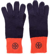 Tory Burch Wool Colorblock Gloves