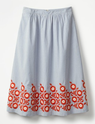 Haidee Embroidered Skirt
