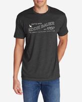 Eddie Bauer Men's Graphic T-Shirt - Signage