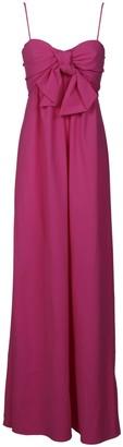 Dondup Front Bow Detail Long Dress