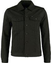 Brixton Cable Summer Jacket Washed Black
