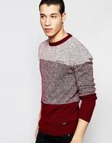Firetrap Stripe Knitted Jumper