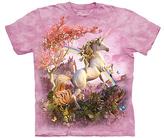 The Mountain Pink Awesome Unicorn Tee - Girls
