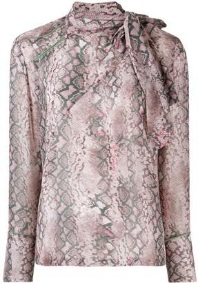 A.F.Vandevorst patterned shirt