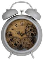 A&B Home Hereford Table Clock Gray/Bronze