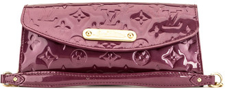 Louis Vuitton Red Monogram Vernis Leather Sunset Boulevard Clutch