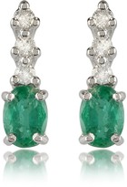 Tagliamonte Incanto Royale Emerald and Diamond 18K Gold Drop Earrings