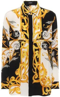 Versace Barocco Acanthus silk shirt