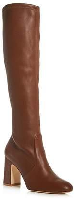 Stuart Weitzman Women's Milla Stretch Block High-Heel Boots