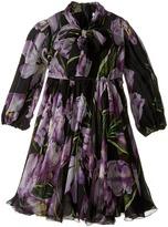 Dolce & Gabbana City Tulip Chiffon Dress (Toddler/Little Kids)