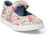 Ralph Lauren Floral Canvas Sneaker