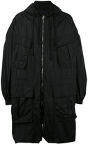 Juun.J cargo pocket parka - men - Cotton/Nylon - 48