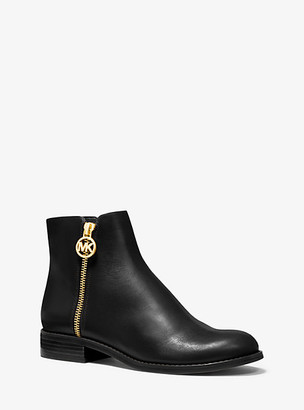 Michael Kors Lainey Leather Ankle Boot