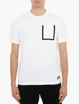 Nike White Pocket Detail T-Shirt