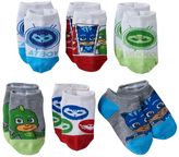 Toddler Boy PJ Masks Owlette, Catboy & Gekko 6-pk. Low-Cut Socks