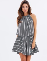 Shona Joy Phoenix Layered Mini Dress