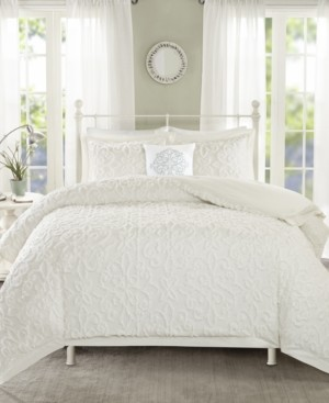 Madison Home USA Sabrina 4-Pc. Tufted Cotton Chenille King/California King Comforter Set Bedding