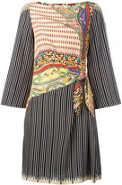 Etro side knot dress - women - Silk - 42