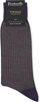 Pantherella Finsbury patterned wool-blend socks