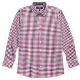 Nordstrom Dot Gingham Sport Shirt