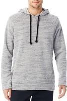 Alternative Wheels Up Mélange Fleece Pullover Hoodie Sweatshirt