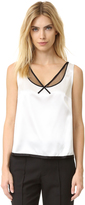 Marc Jacobs Sleeveless V Neck Top