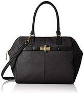 Tommy Hilfiger Belinda Leather Dome Satchel Bag