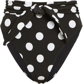Mara Hoffman Goldie High-Waist Bikini Bottoms