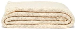 Aessai - Santa Fringed Merino-wool Blend Blanket - Cream