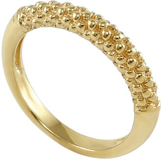 Lagos Caviar Band Ring