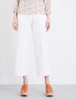 Vanessa Bruno Galopa wide-leg high-rise jeans
