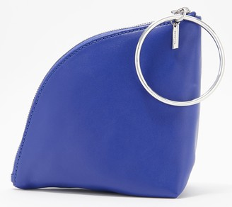 THACKER Wristlet with Ring Handle Leather - Fortune