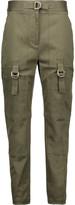 Alexander Wang Cotton-blend straight-leg pants