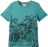 Little Marc Jacobs Funny Crocodile Print T-Shirt (Toddler/Kid) - Green-8A