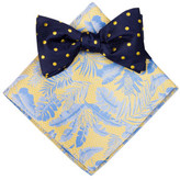 James Harper SPOT & FLORAL BOWTIE & HANK SET